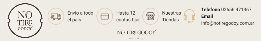 No tire godoy 850 x 135