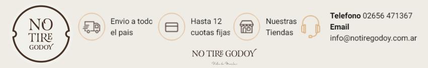 No tire godoy 850 x 135